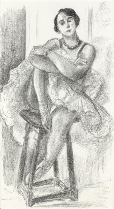 Henri Matisse, 'Danseuse au Tabouret', 1925-26