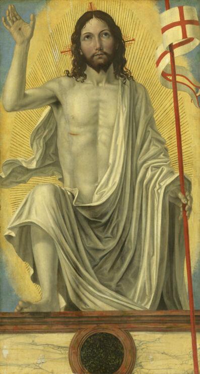 Ambrogio Bergognone, 'Christ Risen from the Tomb', ca. 1490