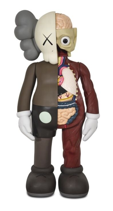 KAWS, '5YL DISSECTED COMPANION BROWN', 2006