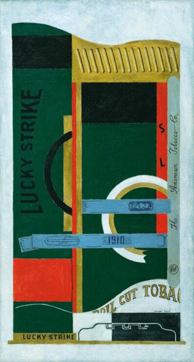 Stuart Davis, 'Lucky Strike', 1921