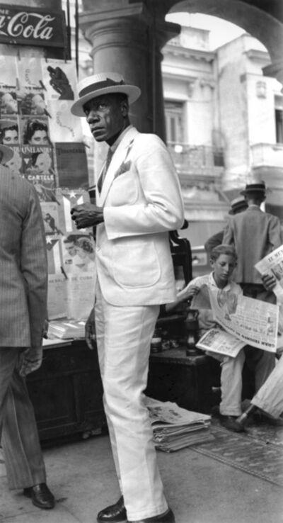 Walker Evans, 'Citizen in Downtown Havana', 1933