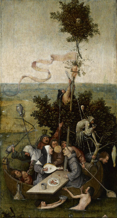 Hieronymus Bosch, 'The Ship of Fools', 1490-1500