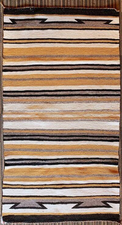 Navajo artist, 'Navajo double saddle blanket', ca. 1960
