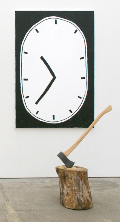Luc Fuller, 'Untitled (Clock Painting after Jim Dine)', 2015