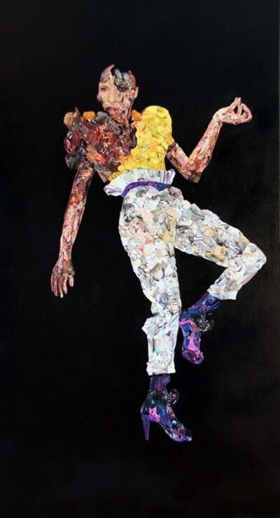 Vitshois Mwilambwe Bondo, 'Fashion 1 of 2 (diptych)                ', 2011
