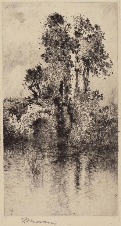 Thomas Moran, 'Bridge and Trees', 1878