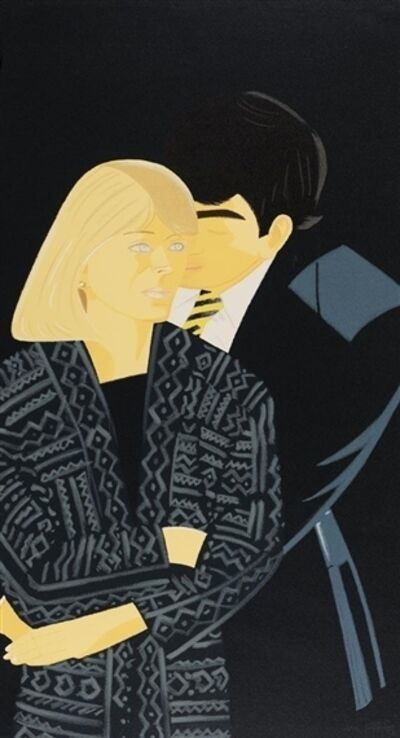 Alex Katz, 'Vicky Hudspith and Wally Tuberville', 1993-1994