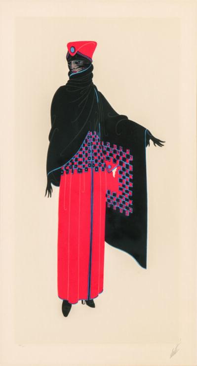 Erté (Romain de Tirtoff), 'Zsa Zsa', 1975