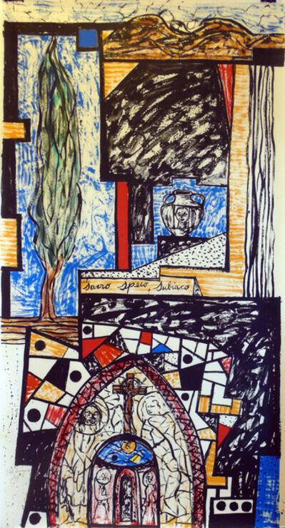 Italo Scanga, 'Sacro Speco', 1988