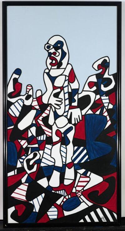 Jean Dubuffet, 'Promenade Agreste', 1974
