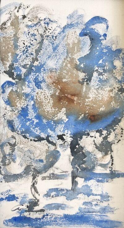 Amaya Salazar, 'Blue landscape', 2019