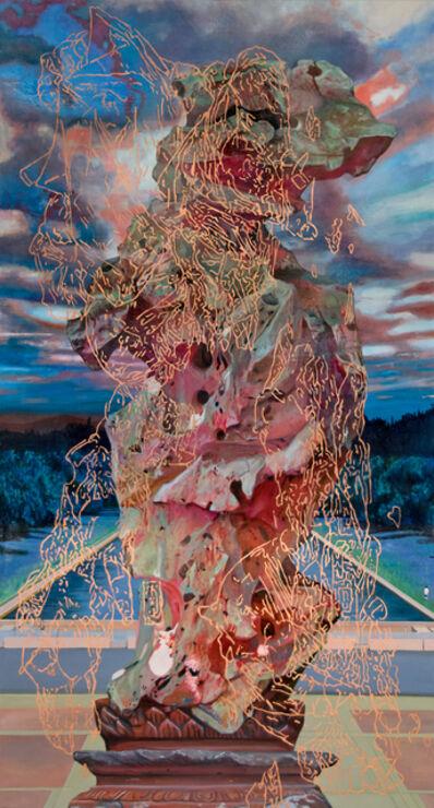 Melissa Furness, 'Standing Stone 8: woman', 2018