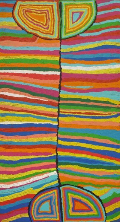 Judy Napangardi Watson, 'Grass Skirt'