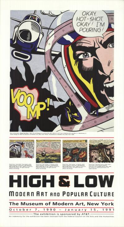 Roy Lichtenstein, 'High & Low: Modern Art and Popular Culture', 1990