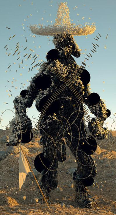 Shamus Clisset, 'Señor Tar Man (Gringo God, Embreado y Emplumado)', 2014