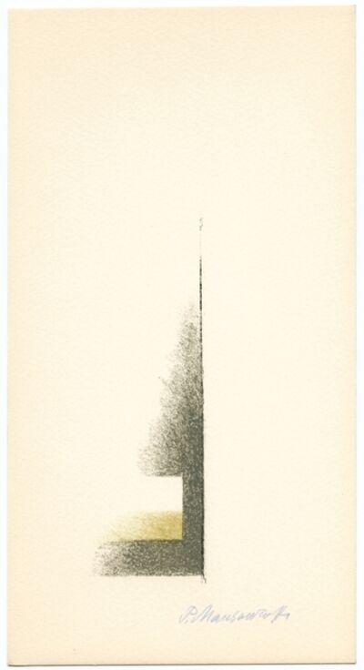 Paul Mansouroff, 'Untitled', 1967