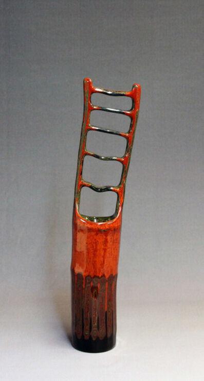 Fujinuma Noboru, 'Lacquered Bamboo Cylinder', 2010