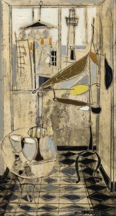 Claude Venard, 'Le Mobile Jaune et Noir'