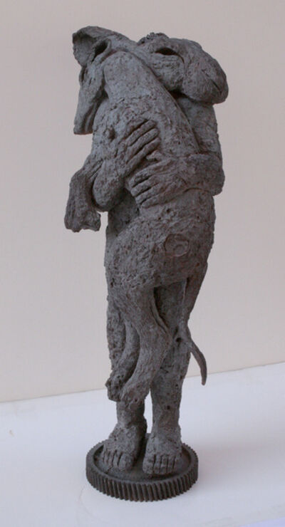 Sophie Ryder, 'Lady-Hare with Dog II (maquette)', 2002