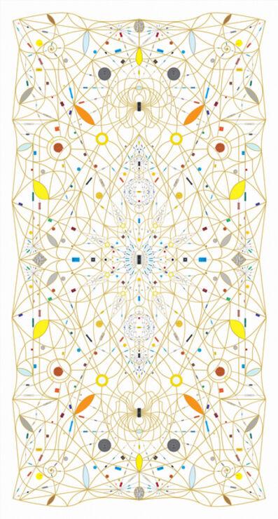 Leonardo Ulian, 'Technological Mandala 118 (Revolution, Involution) '