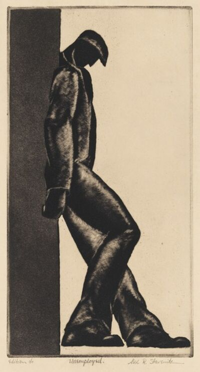 Alexander Stavenitz, 'Unemployed', 1930