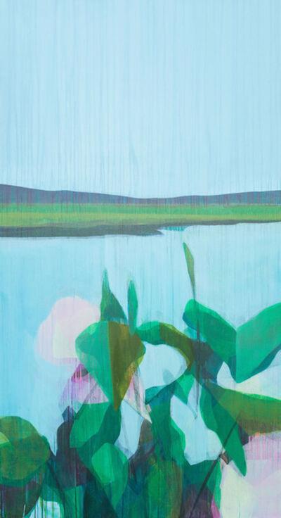 Katherine Sandoz, '(vernonburg) marsh + morning glories no.1', 2018/2019