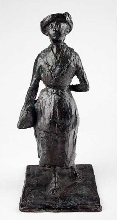 Edgar Degas, 'L'écolière (The Schoolgirl)', Modeled ca. 1880; Cast ca. 1956