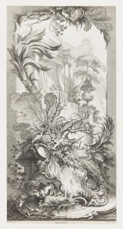 François Boucher, 'Rocaille [Rococo Design], in Nouveaux Morceaux pour des Paravents [New Concepts for Screens]', 1730s