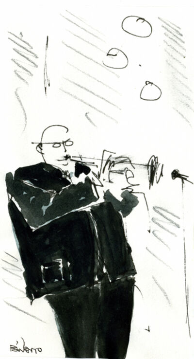 Gordon Binder, 'Blowin His Horn (Sanibel)', 2010
