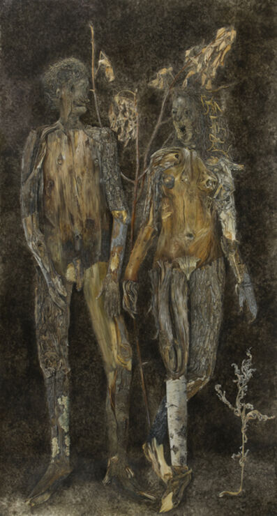 Constance Mallinson, 'Couple', 2008