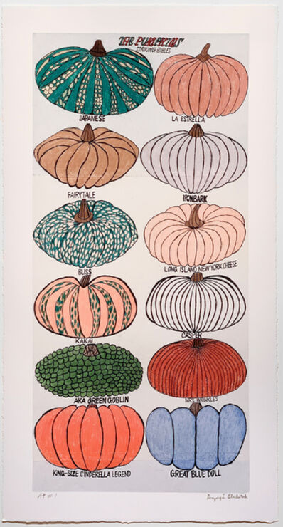 Gregory Blackstock, 'THE PUMPKINS from THE INCOMPLETE HISTORICAL WORLD, PART II', 2021