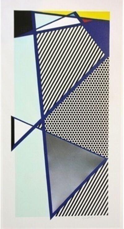 Roy Lichtenstein, 'Imperfect Print for B.A.M, 1987', 1987