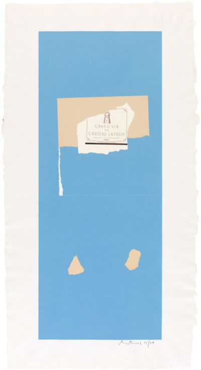 Robert Motherwell, 'Pauillac #4 (Belknap 122; Engberg/Banach 151)', 1973