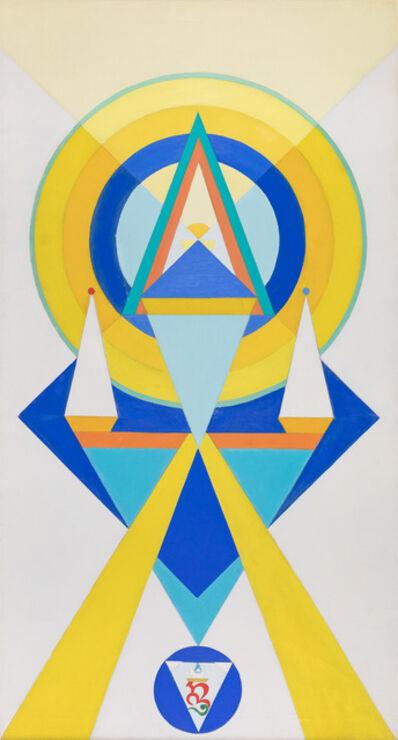 Charmion von Wiegand, 'To The Adi Buddha', 1968-1970