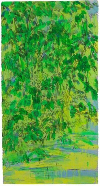 Walasse Ting 丁雄泉, 'Chinese Willow', 1990-2000
