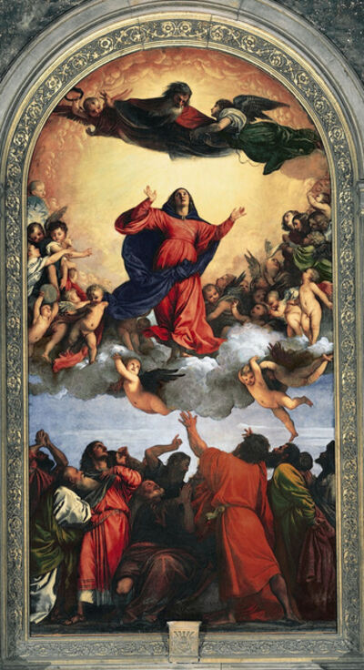 Titian, 'Assumption of the Virgin', 1516-1518