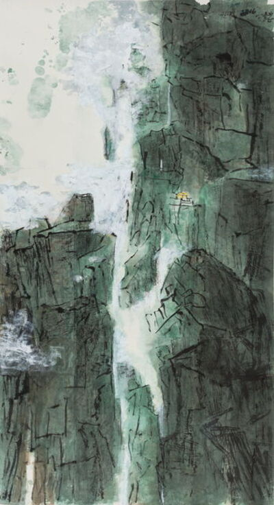 Wang Gongyi, 'Among the Green Mountains and Streams 青谿', 2016