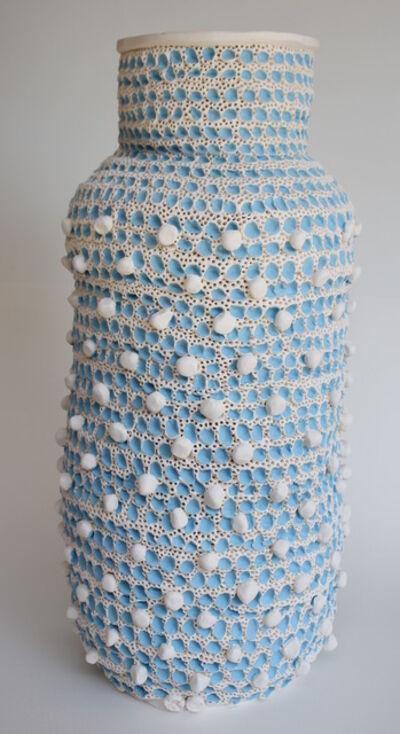 Glenn Barkley, 'Large Blue and White Vase', 2018