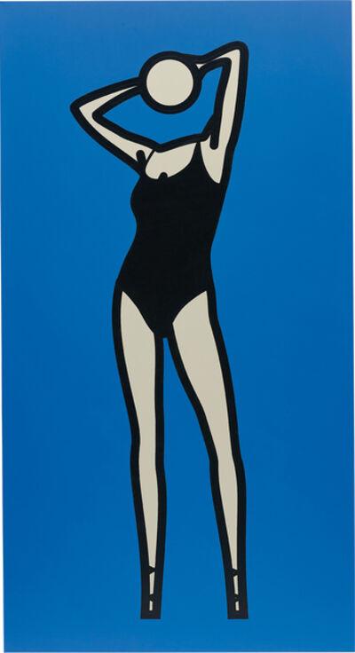 Julian Opie, 'This Is Monique. 08', 2004