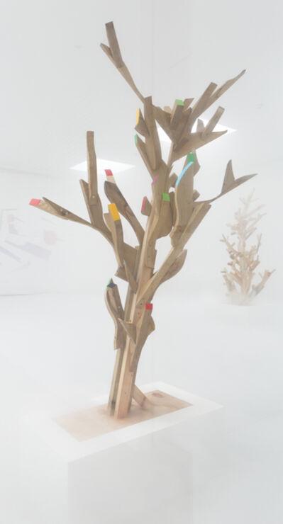 Ryan Gander, 'Consistent and inconsistent thinking (Off cut bush Ipswich School of Art July 2015)', 2015