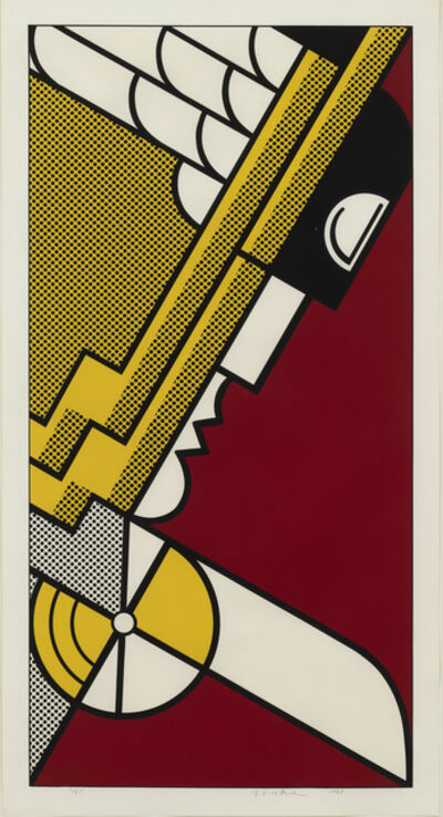 Roy Lichtenstein, 'Salute to Aviation', 1968