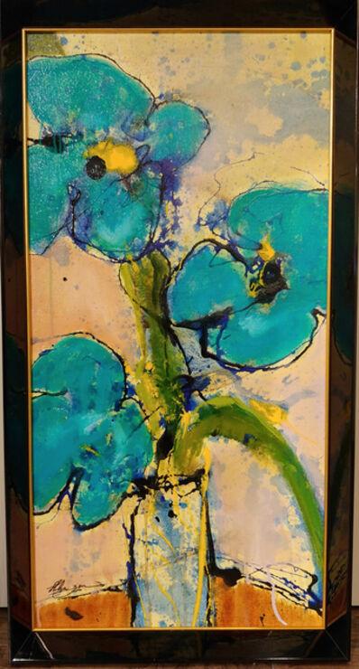 Helen Zarin, 'Fleurs - Turquoise', 2018