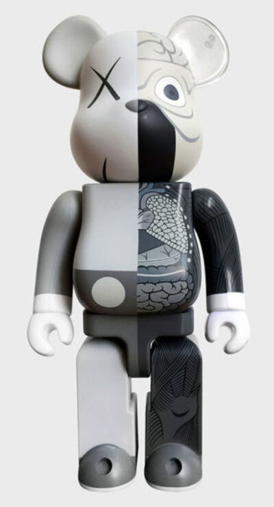 KAWS, 'Grey Dissected Bearbrick', 2010