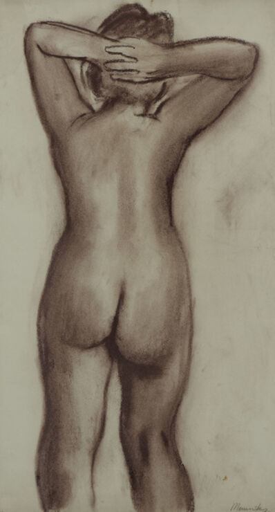 BERNARD MENINSKY, 'Female Nude, Back View', N.D.