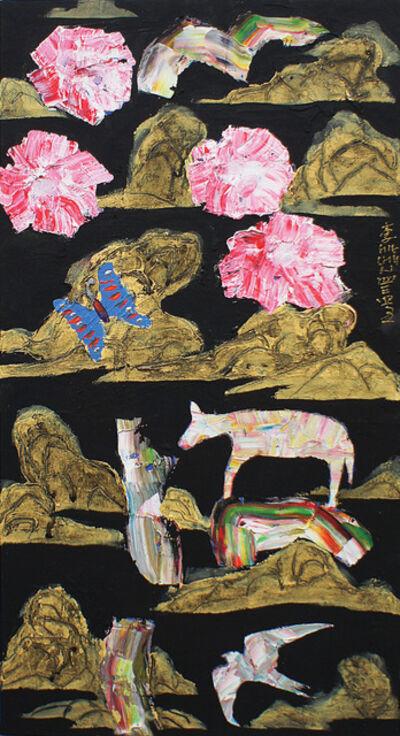 Lee, Hiechun (이희춘), 'Drawing for Flower; Garden of Dream', 2013
