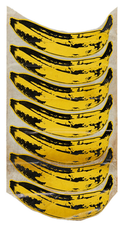 Andy Warhol, 'Banana Stickers (The Velvet Underground & Nico)', 1967