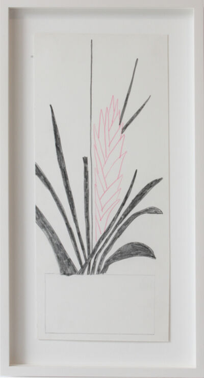 Jonas Wood, 'Pink flower', 2012