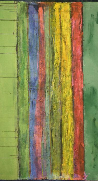 Frank Bowling, 'High Key Flow II', 2013