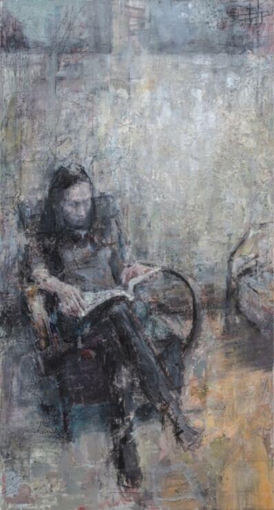Tibor Simon-Mazula, 'Reading', 2018