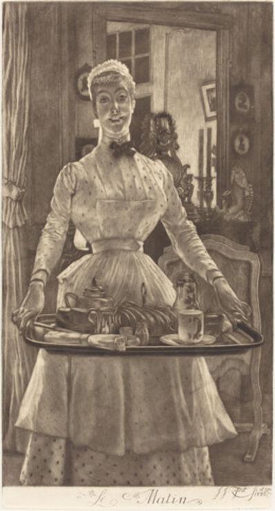 James Jacques-Joseph Tissot, 'Le Matin (Morning)', 1886